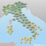 #buongiorno Queste le previsioni meteo di oggi. http://t.co/fd9z1NYCWh