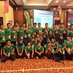 The Malaysian Sea Games Hockey Team ( Mens & Womens ) at the Centralized Camp in IOI Palm Resort Hotel http://t.co/CKkyw6nxuT
