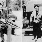 23/5/1934 American bank robbers Bonnie & Clyde were killed in a police ambush. http://t.co/dcrpZef92e
