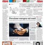Buongiorno, la #primapagina di @corriereit http://t.co/LSMAwez85S http://t.co/sJiKaTvgWL