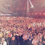 Last dress rehearsal... look at all these people!!! #crowd #eurovision #amazing http://t.co/2odPpq9chG