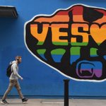 It looks like Ireland has legalised gay marriage http://t.co/gGYv3EhVTp http://t.co/RJCVDbKyq6
