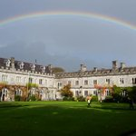 Yes vote, Eurovision is on, Actual rainbow over Cork, This is now officially the gayest day in Irish history http://t.co/wVtnEfWvTU