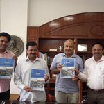100 Days -100 Achievements of Delhi Jal Board: Report submitted to @ArvindKejriwal and @msisodia http://t.co/M0rxW69Dzr