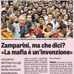 Capaci, 23 maggio 1992 Zamparini, 23 maggio 2015 No comment #pernondimenticare http://t.co/QqVFe18DXN