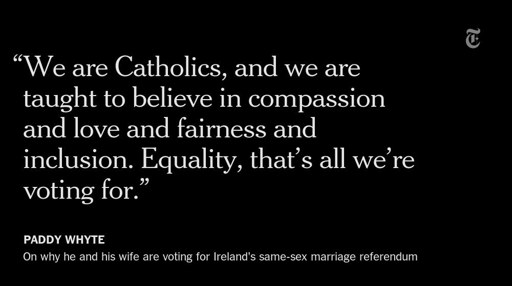 An Irish couple's video on the country's same-sex marriage referendum goes viral http://t.co/EoRGIEYYDH