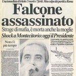 23 maggio 1992. 23 anni fa, la strage di #Capaci. #GiovanniFalcone #ionondimentico http://t.co/wIqBvEPriF