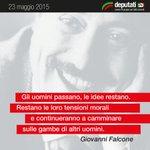 """""""@Deputatipd: 23 maggio #1992 - 23 maggio #2015 #Capaci #GiovanniFalcone http://t.co/S6hTXn9qAO"""""""