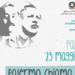 Strage di Capaci: Falcone Morvillo Schifani Dicillo Montinaro. @comuneciampino non dimentica #PalermoChiamaItalia! http://t.co/zAZD1yyPSf