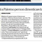 #PalermoChiamaItalia @23maggioItalia cortei e spettacoli @MiurSocial @skuolanet @unipait @RaiStoria #23maggio http://t.co/BxPYaJYz3m