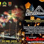 #jogja @mbakITASMG 30/5/15 Festival Kaligarang di Banjir Kanal Barat #Semarang Jateng | Free http://t.co/BAFWoDtu9E