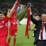 """Rafa on Gerrard: """"He is an icon for the club, a legend and someone that everybody will remember.""""  #ThanksStevie #LFC http://t.co/sqCaxtTNDh"""