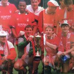 Nottingham Forest with the Simod Cup http://t.co/48CHdZiGj9