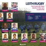 """Suns oot! Get down to Academy Pk for 2pm KO vs @nrcthewasps. Warm Leith """"Welkom"""" to our Dutch visitors. Leith Team: http://t.co/8EG1wtCBuE"""