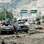 23 anni fa la strage di #Capaci #PalermochiamaItalia LE FOTO STORICHE ANSA http://t.co/OgnfdAH8WD http://t.co/YIZABueWNU