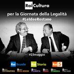 """""""Gli uomini passano, #LeIdeeRestano"""" è il testamento morale di Giovanni #Falcone @RaiUno @MiurSocial http://t.co/58iXdEJbg8"""