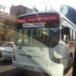Замын тvгжрээг байхгvй болгохын тулд одоо удахгvй бvx чиглэлд ийм автобусууд явдаг болно гэжийн шоо... ккк. http://t.co/9gZiIbj3u8