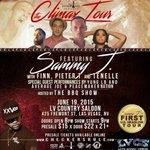 Friday June 19 Sammy J w/ Finn x Pieter T x Tenelle Yung LB x The BBQ Show @ LVCS 8pm    21+    $15 - $22 #Vegas http://t.co/JEYPch5sia