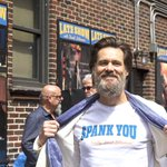 RT @IBNLiveMovies: What @JimCarrey, #TinaFey, #JerrySeinfeld did while #DavidLetterman recorded last 'Late Show'