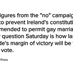 .@AP: Both sides say Ireland has voted to legalize gay marriage http://t.co/GOwqx87xnZ http://t.co/N8enYDUwta
