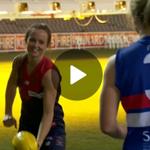 Gillon McLachlan keen for women's @AFL league. @Jo_Hall9 http://t.co/lUJhwW6E16 #9News http://t.co/mF2UihQ0PI
