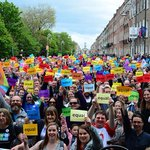 #Breaking: Ireland says Yes by up to 2:1 margin in #MarRef! Ireland I love you!! ???? ❤️ #VoteYes #Equality #Ireland http://t.co/sNBWT0OBl4