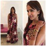 RT @shweta_malpani: @LakshmiManchu for success meet of #Dongaata ,outfit n accessories by @sapphirestore ,styled by @shweta_malpani