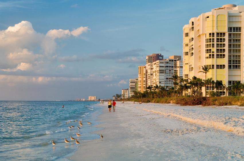 Itching for a relaxing beach trip? Try Naples, Florida on for size: