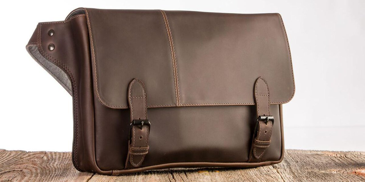 Giveaway: Intrepid's Journeyman messenger bag worth $379 is great for work or play http://t.co/wLaJ9SyxU2 http://t.co/HzKlZweB1J