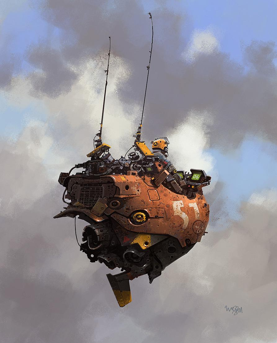 The wickedly original #conceptart of @IanMcque http://t.co/gI5o4L5hVN #ships #scifi #art http://t.co/3TrjNPRH9u