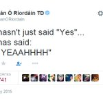 This is how Irelands equality minister reacted to the gay marriage vote #MarRef http://t.co/sQfwCf1b89 http://t.co/bOML73kCBH