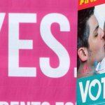 Early indications suggest Ireland has voted to legalise same-sex marriage in #MarRef http://t.co/88qEh1Sc3i http://t.co/ci11h8locN