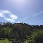 The sun is shining in #Edinburgh, Ireland looks set to say yes to #MarriageEquality and #Eurovision tonight. #joy http://t.co/f2mJ6AWCBu