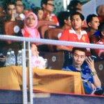 Piala FA - Dato @LeeChongWei pun turun sokong @KelateFA #XOXFinalPialaFA #GomoKelateGomo ????????????⚽???? http://t.co/89707Btnqd