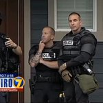 Police are protecting the house of the officer who shot the two unarmed black men in Olympia. #OlympiaShooting http://t.co/WV6XznF1mh