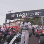 AT LAST: Lewis Hamilton shows his delight after securing the first #MonacoGP pole position of his career http://t.co/MHv8hUOteL