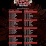 Rise & Shine ☀️ for #EDCNY Day 2! RT if youre going to be under the electric sky! @insomniacevents @EDC_LasVegas http://t.co/BCasFOXrv9