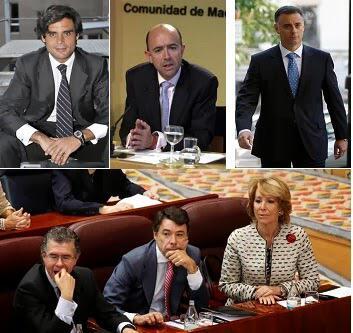La candidata Aguirre rodeada de sus hombres de confianza (corrupción) #ImagenesParaLaReflexion