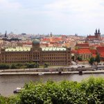 Out and about in #Prague today working on a series for @airtransat about best views of the golden city! #airtransat http://t.co/EGS95Knnbj
