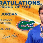 Congrats @tyjordan58 and @_bsandifer on your high school graduations today! #UF19 #GoGators http://t.co/ALQe5bPSnW