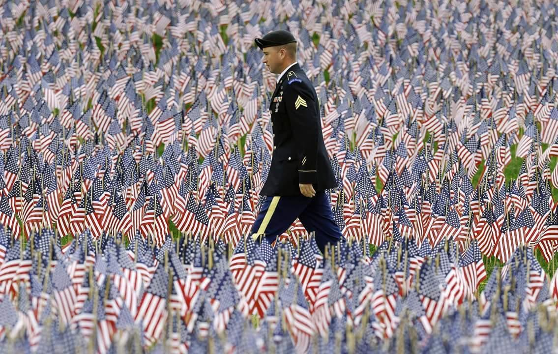 Enjoy this Memorial day weekend but take time to remember the fallen. #MemorialDay  Boston Globe image http://t.co/cHDx5bP0y9