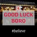 It's an exciting weekend for @Boro if you're Wembley bound don't forget to tag @TeessideUni in your pics #believe http://t.co/gfCiUKYuMv