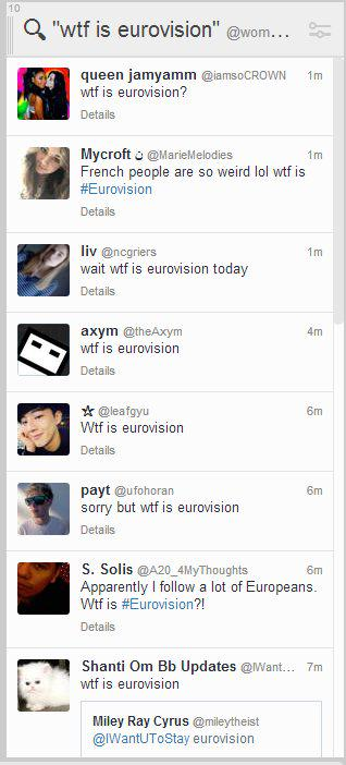 Meanwhile in America #Eurovision2015 http://t.co/0ATkD4S07W