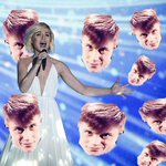 Нам нужна песня про миллион рапапа. #Eurovision2015 http://t.co/G0w6N3SXQc