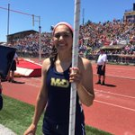 """@PennLive McD Tesia Kempski wins gold in PIAA states! 126"""". Set her pr of 129"""" and trying to break PIAA record http://t.co/z8hN71CvFh"""