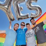"Ireland said ""yes"" -- becoming first country to legalize same-sex marriage by popular vote. http://t.co/pAI2aV96Iz http://t.co/LVWgcpELDR"