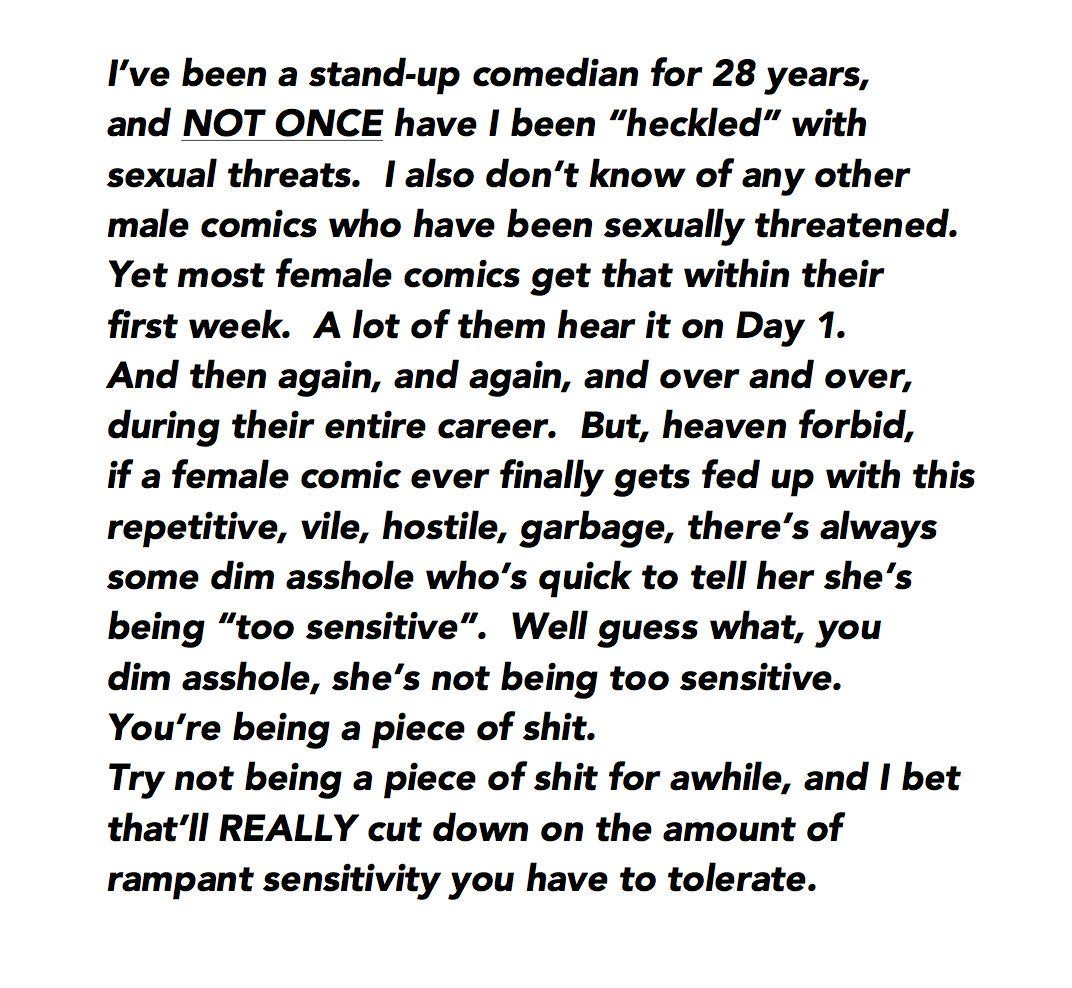 Ok...I got a little angry & couldn't fit it in a tweet, so I put it here: