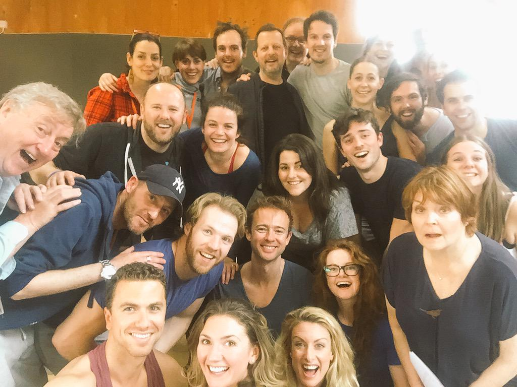 Damsels and Dudes last day in the rehearsal room before the tech! #excitingtechtime #ADamselinDistress #happydamsel http://t.co/ijH5k5Pz9i