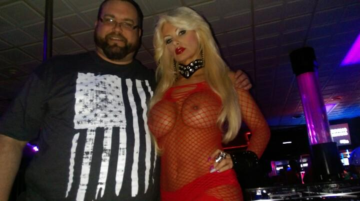 Me with @DJBritStar in her VIP area between sets http://t.co/XpcDxm6M66