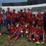 LOS ROJITOOOOSSSS DE #MUNICIPAL vence 3-1 a los cremillas. MAÑANA REDONDA para los patojos!! http://t.co/G2YPFlcDXY